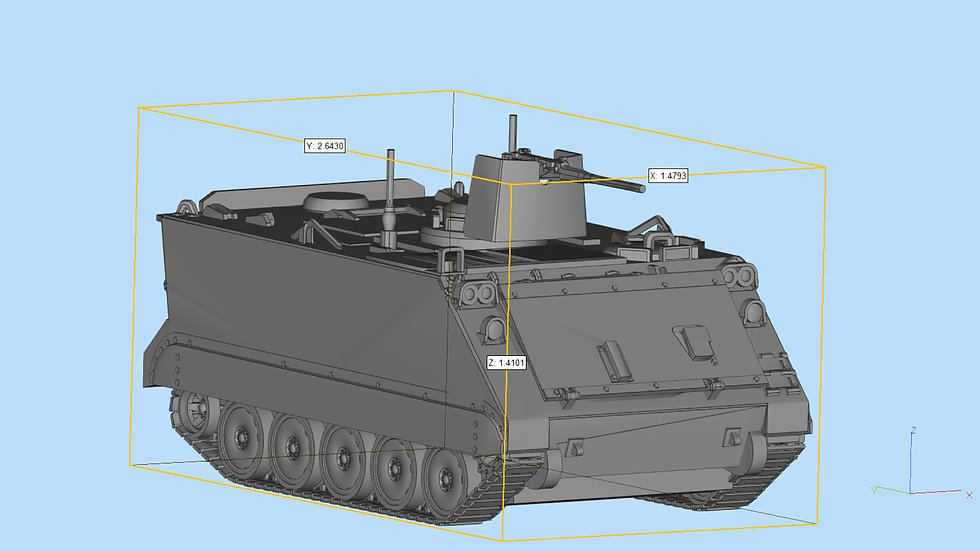 M113 Highly Detailed