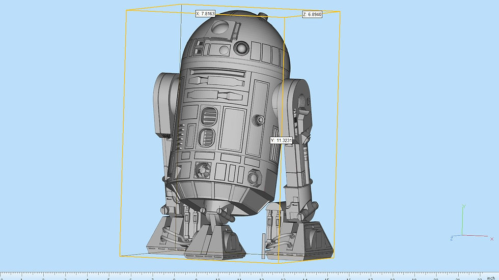Droid Highly Detailed Articulated