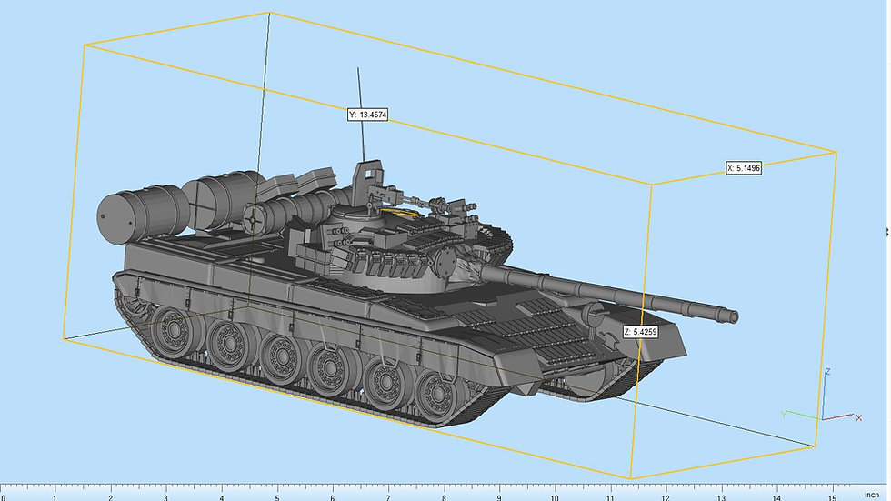 T80 Highly Detailed