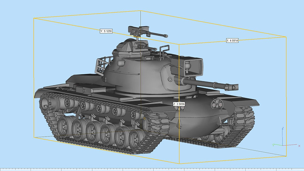M48 Patton Highly Detailed