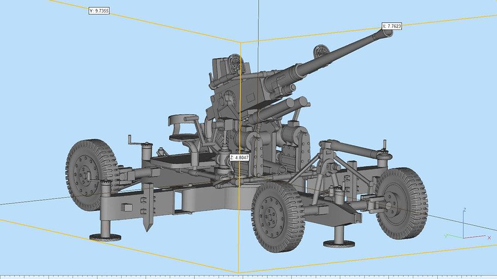Bofors 40 mm Highly Detailed