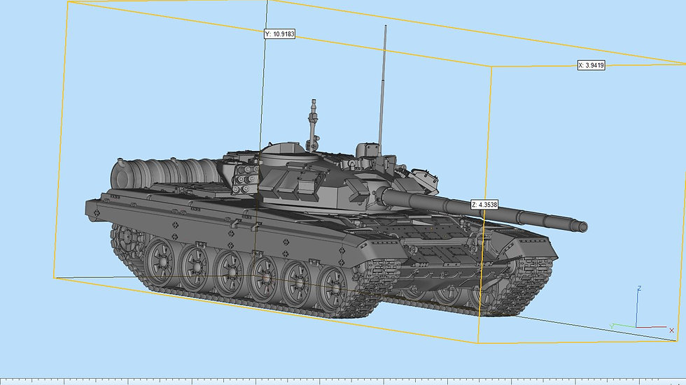T90 Highly Detailed