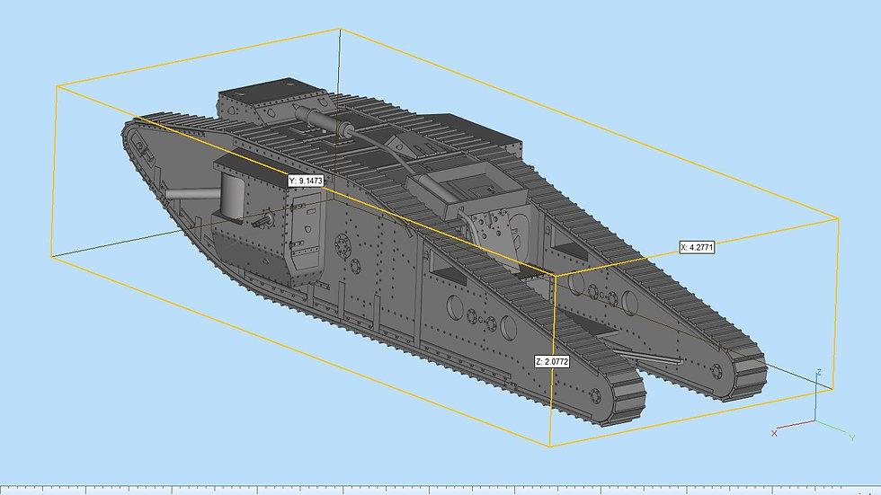Mark 4 Female Tank