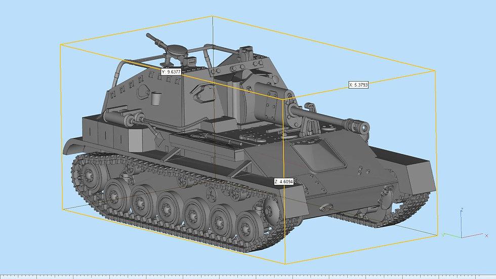 SU76 Self Propelled Artillery