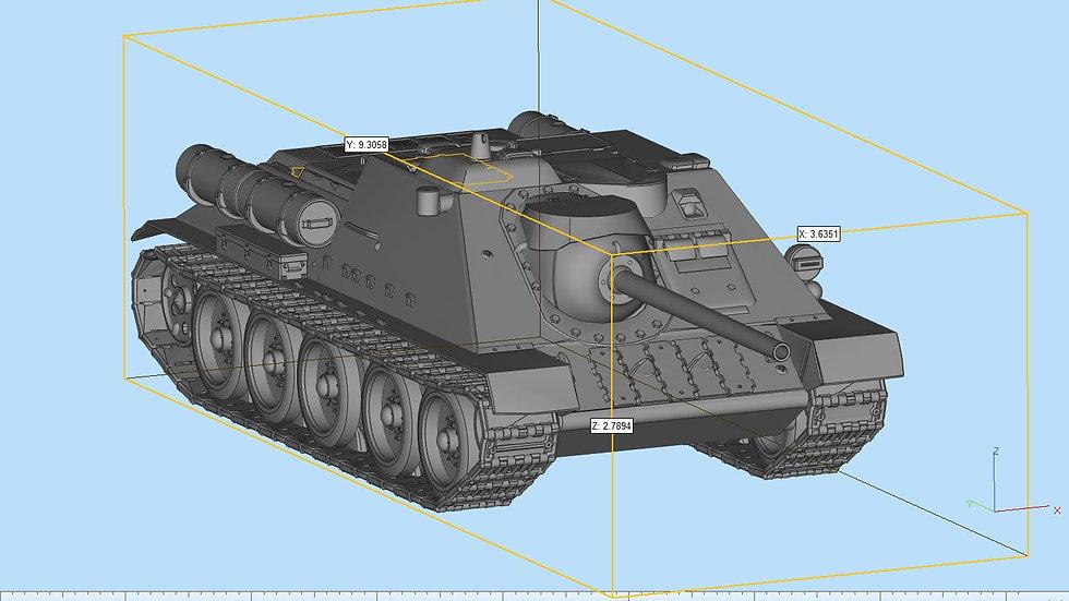 SU85 Tank Destroyer