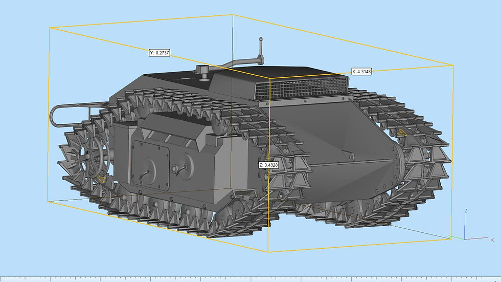Sdkfz Goliath Highly Detailed