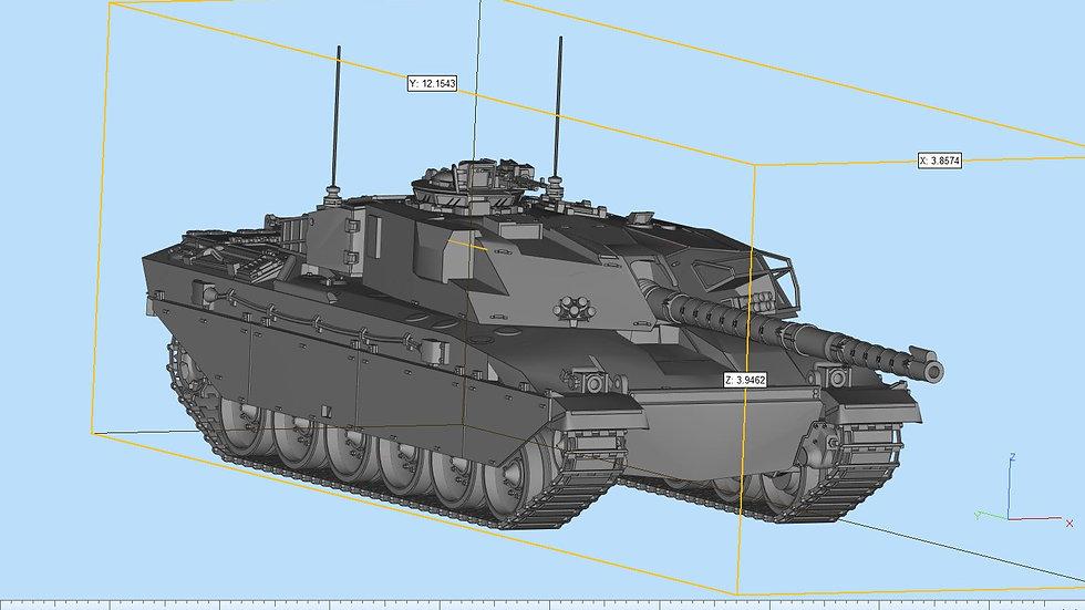 FV4030 Challenger Tank