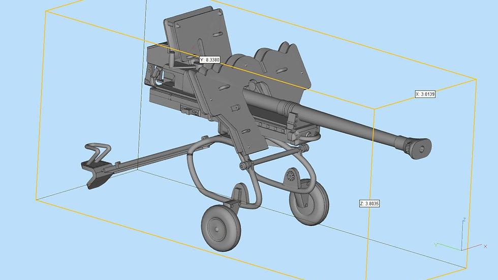 28cm sPzB 41 Artillery