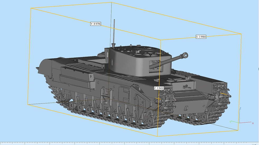 Churchill Tank Highly Detailed