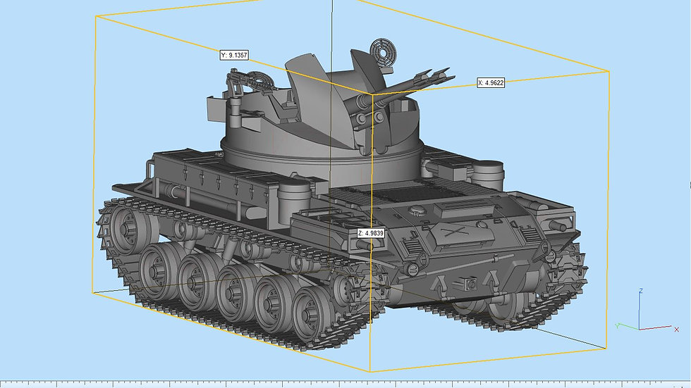 M42 Duster Highly Detailed