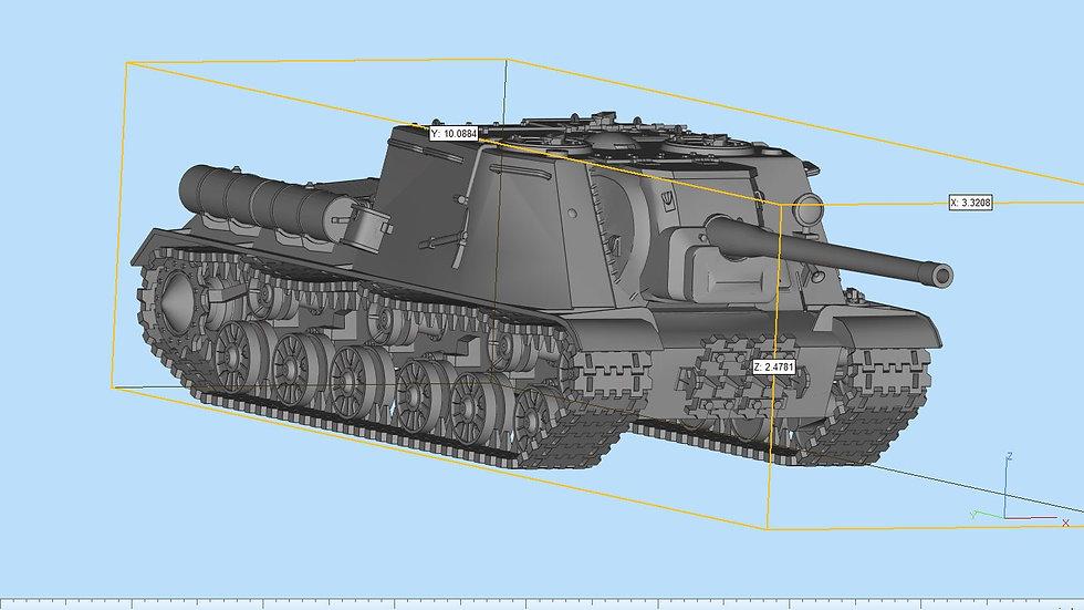 ISU 122 Tank Destroyer