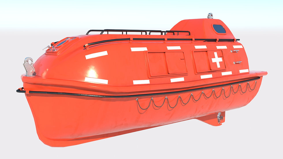 Freefalling Lifeboat PBR