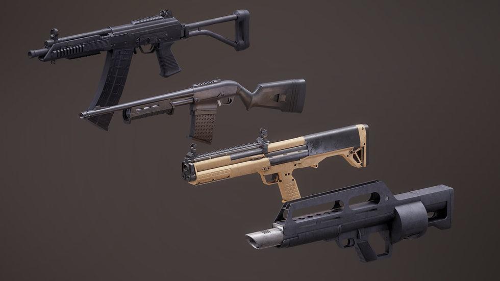 Shotgun Set 2 PBR