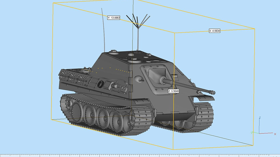 Jagdpanther Highly Detailed