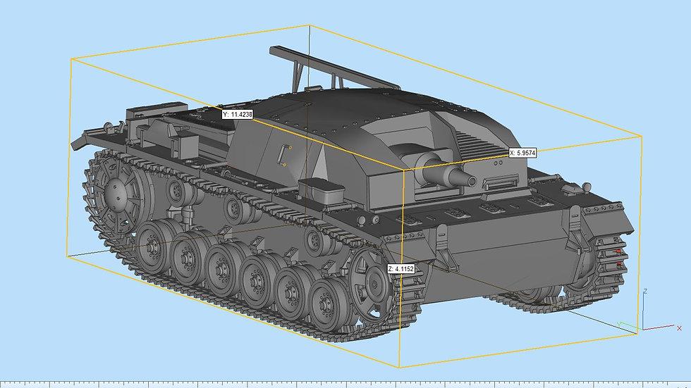 Stug III Ausf B Highly Detailed
