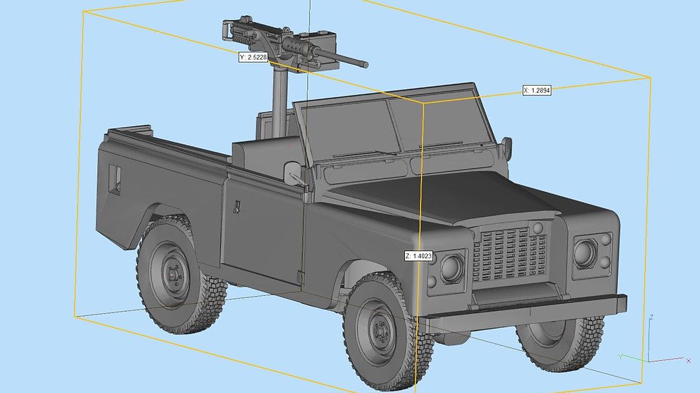 Land Rover Series 2 Detailed