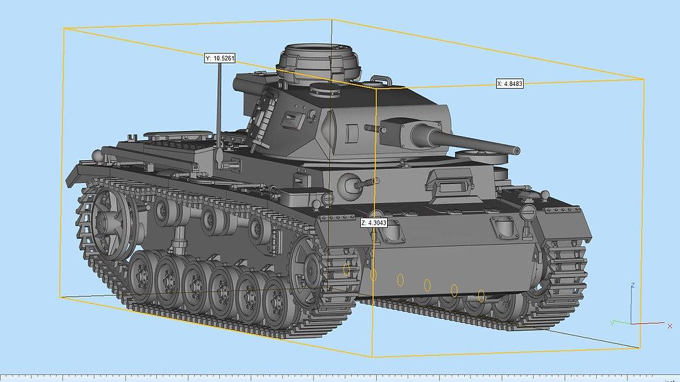 Panzer 3 Highly Detailed