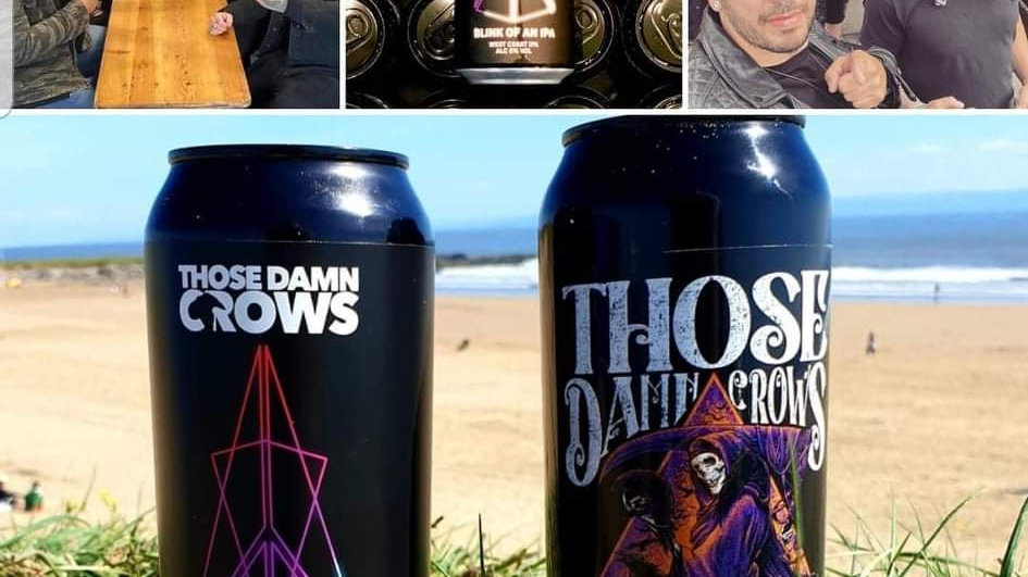 THOSE DAMN CROWS COLLABORATION 12 PACK