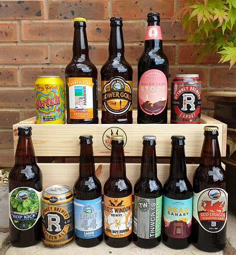 12 BEER BUMPER PACK - Choose a mix or your preferred style