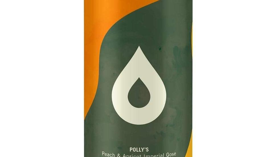 POLLY'S  - TIDAL REVEALS - PEACH & APRICOT GOSE (440ml) 7%