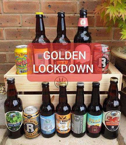 GOLDEN LOCK DOWN BUMPER PACK (12 beers)