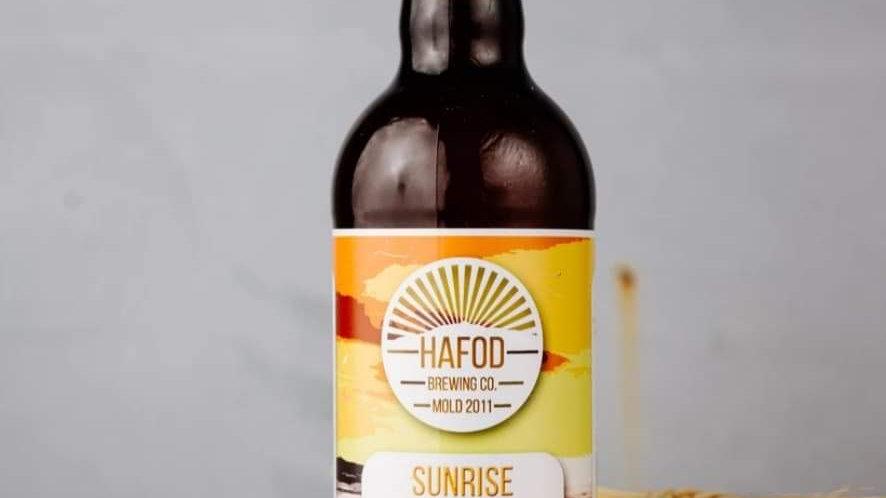 HAFOD - SUNRISE PALE ALE  (500ml) 3.8%abv (Gold member £2.63)