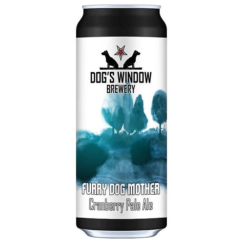 DOG'S WINDOW  - CRANBERRY PALE ALE FURRY DOG MOTHER (440ml) 4.3%abv