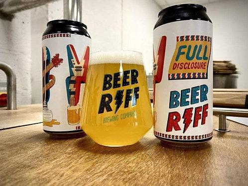 BEER RIFF - FULL DISCLOSURE (440ml) 4%abv