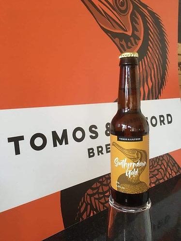 TOMOS & LILFORD  - SOUTHERNDOWN GOLD (330ml)4.6%abv