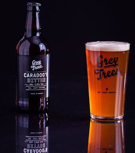 GREY TREES - CARADOG'S BITTER (500ml) 3.9% abv