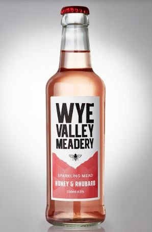 WYE VALLEY MEADERY - HONEY & RHUBARB (330ml) 4.0% abv