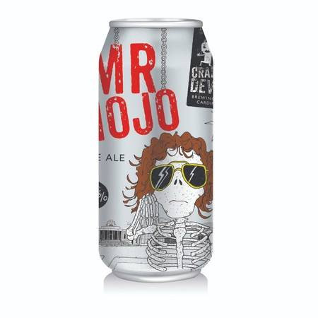 CRAFTY DEVIL - Mr Mojo-American Pale Ale (440ml) 5.4%abv