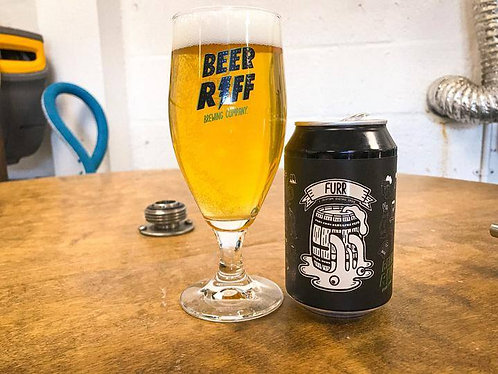 BEER RIFF - FURR LAGER (330ml) 4.5%abv