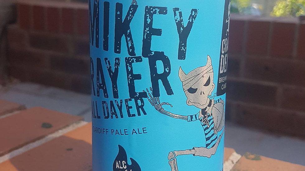 CRAFTY DEVIL-MIKEY RAYER ALL DAYER (440ml) 4%abv