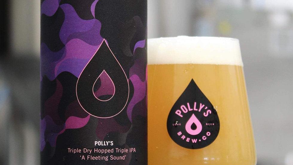 POLLY'S  - A FLEETING SOUND  TDH TRIPLE IPA (440ml) 11%abv