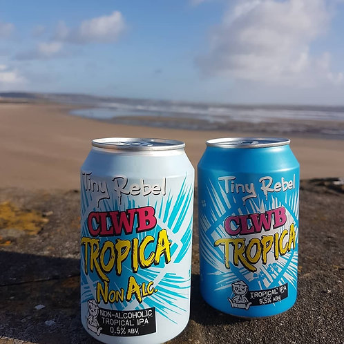 TINY REBEL - CLWB TROPICA NON ALCOHOLIC (330ml) 0.5% abv