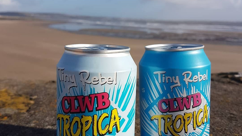 TINY REBEL - CLWB TROPICA NON ALCOHOLIC (330ml) 0.5% abv