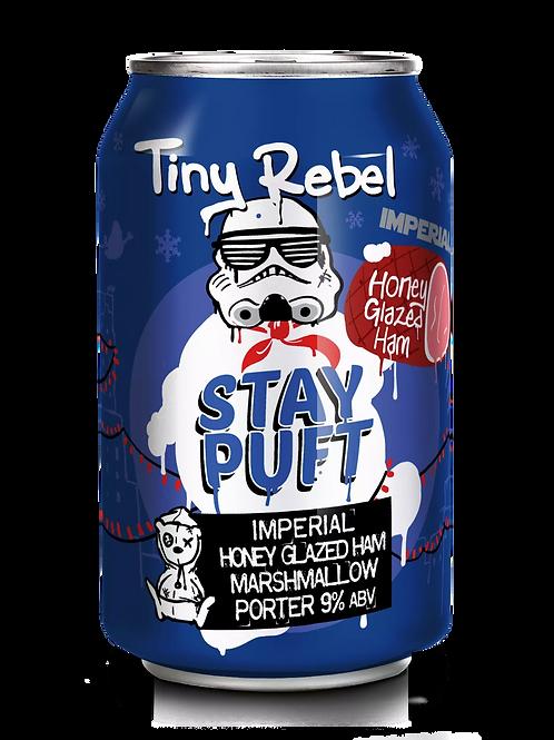 TINY REBEL  - IMPERIAL HONEY GLAZED HAM STAY PUFT (330ml) 9%abv