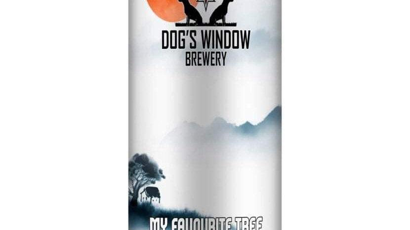 DOG'S WINDOW  - MY FAVOURITE TREE (440ml) 4.7% (Gold member £3.28)