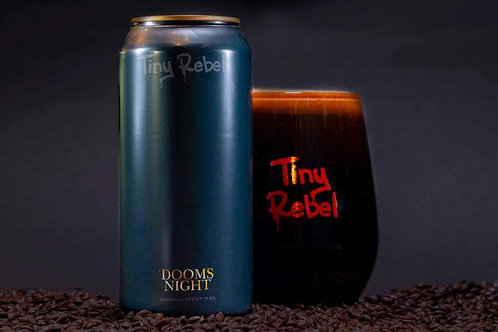 TINY REBEL  - DOOMS NIGHT IMPERIAL STOUT (440ml) 11.5%abv