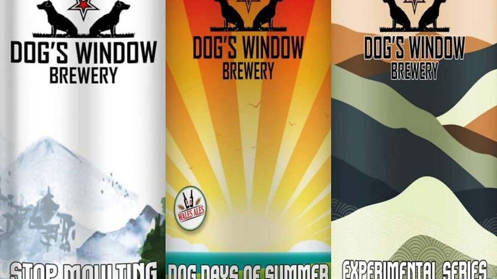 3 X DOG'S WINDOW TASTING PACK