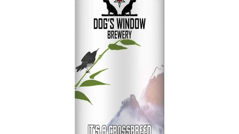 DOG'S WINDOW  - IT'S A CROSSBREED IMPERIAL COCONUT PORTER (440ml) 7.2%