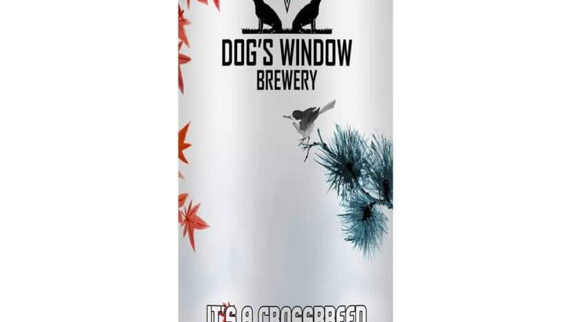 DOG'S WINDOW  - IT'S A CROSSBREED MAPLE IMPERIAL PORTER (440ml)7.2%abv