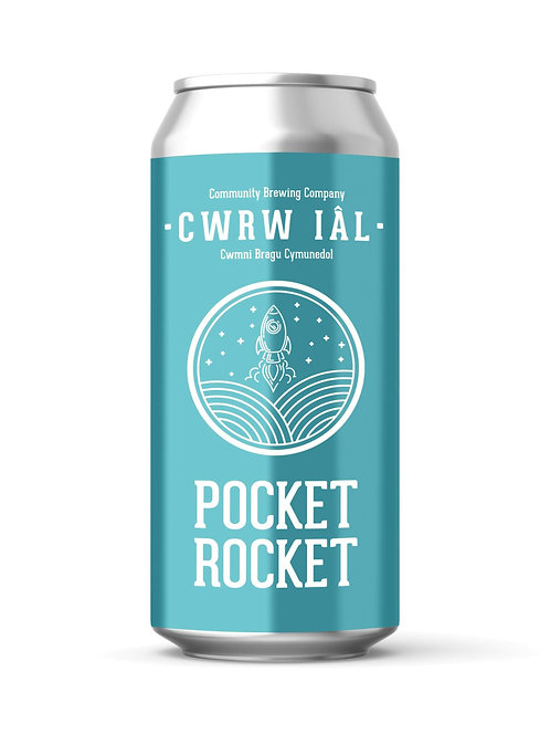 CWRW IAL - POCKET ROCKET (440ml) 4.3%abv