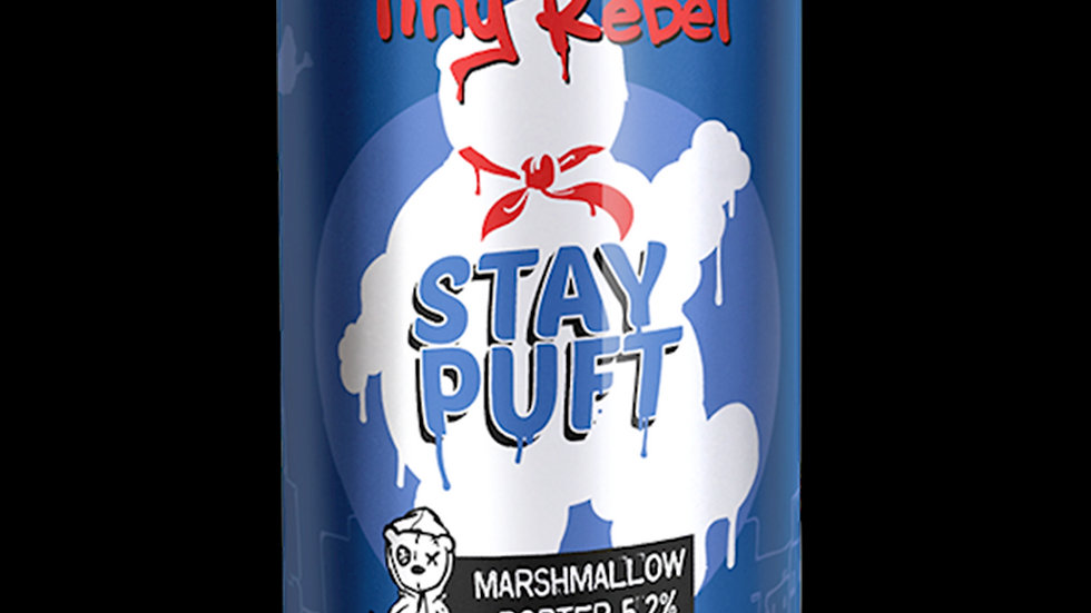 TINY REBEL-STAY PUFT (330ml) 5.6% abv