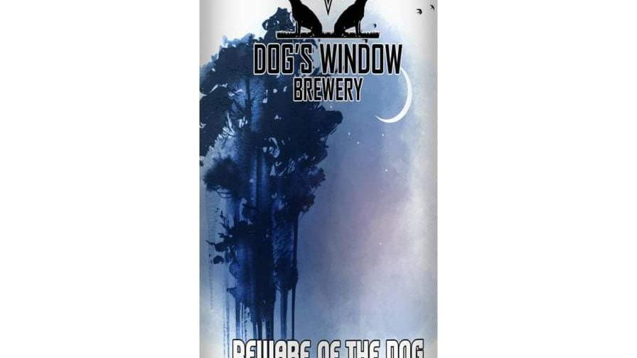 DOG'S WINDOW  - BEWARE OF THE DOG WELSH COAST IPA (440ml) 8.3%abv