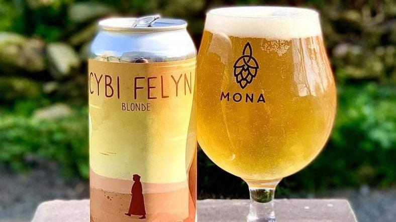 BRAGDY MONA - CYBI FELYN BLONDE (440ml)4.4% (Gold member £3.20)