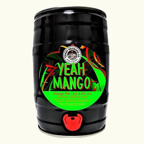TENBY - YEAH MANGO 4.5%abv 9 pint mini keg