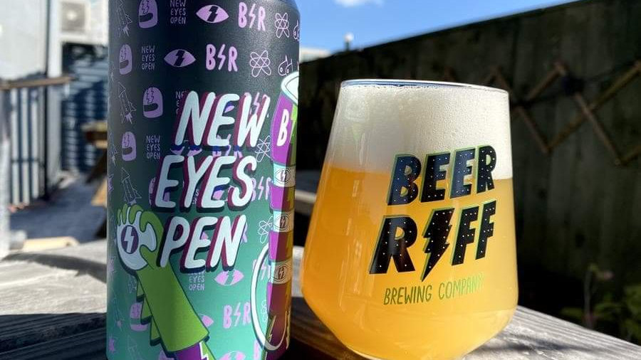 BEER RIFF -NEW EYES OPEN (440ml) 5.5% abv