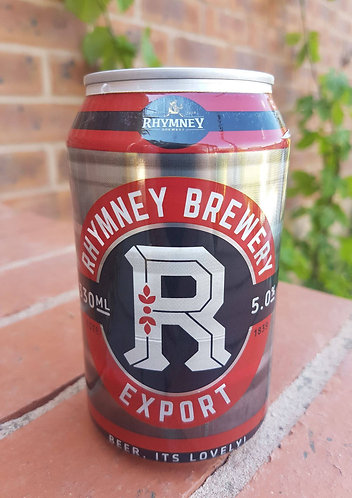 RHYMNEY - EXPORT (330ml) 5.0% abv